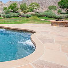Palm Desert Pool Deck